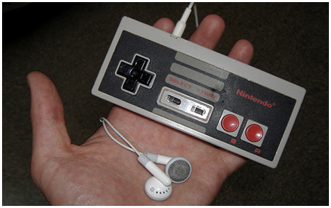 NES iPod Shuffle