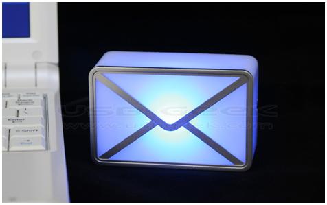 USB Webmail alarm