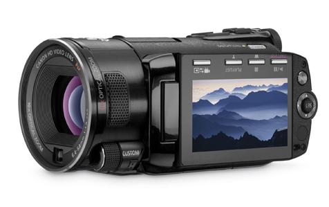 Nieuwe HD camcorders van Canon