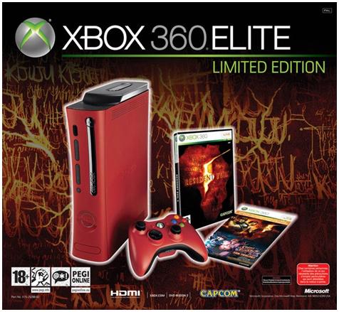 Xbox 360 Resident Evil 5 bundel
