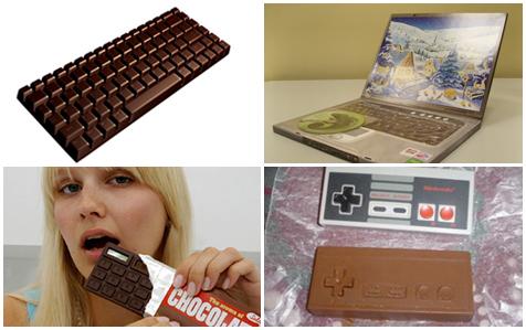 Chocolade gadgets