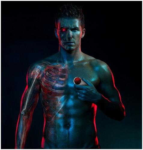 David Beckham promoot Motorola Aura