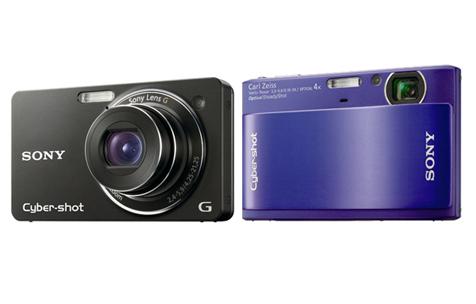 Sony CyberShot DSC-TX1 en DSC-WX1