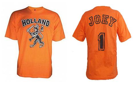 Oranje WK shirt