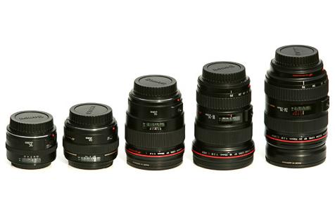 Canon lensen