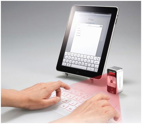 Magic Cube Laser Keyboard