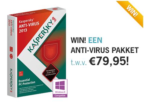 Win-actie Kaspersky Lab