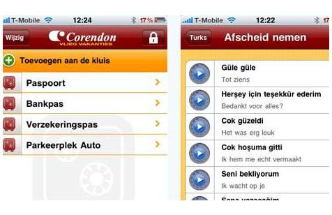 Corendon app