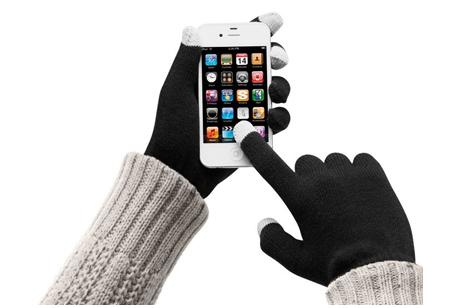 Smartphone handschoen